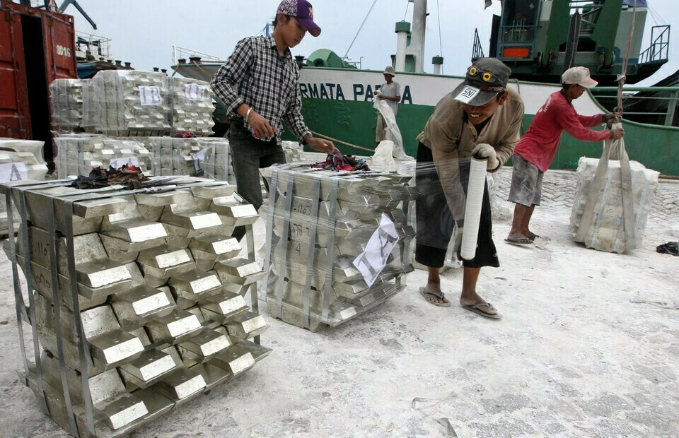 Indonesian Tin Producers are the Largest Tin Exporters