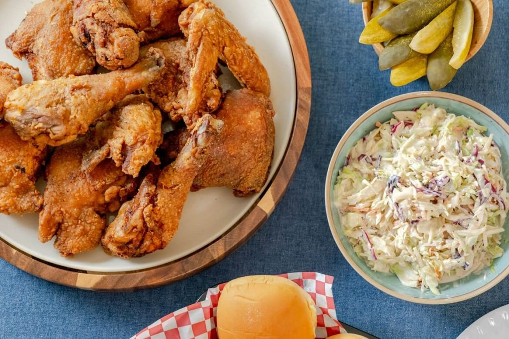 English Sauce Fried Chicken Recipe a la Chinese Food Restaurant