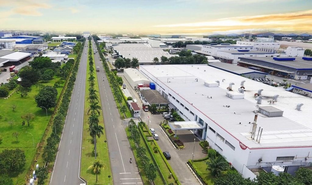 Lippo Cikarang Indonesia Industrial Estate which is Very Largest