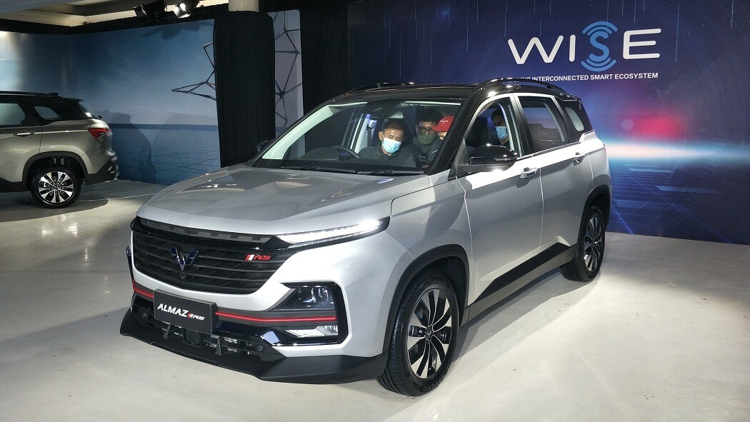 Wuling Almaz RS Officially Introduced, Many Advanced Features