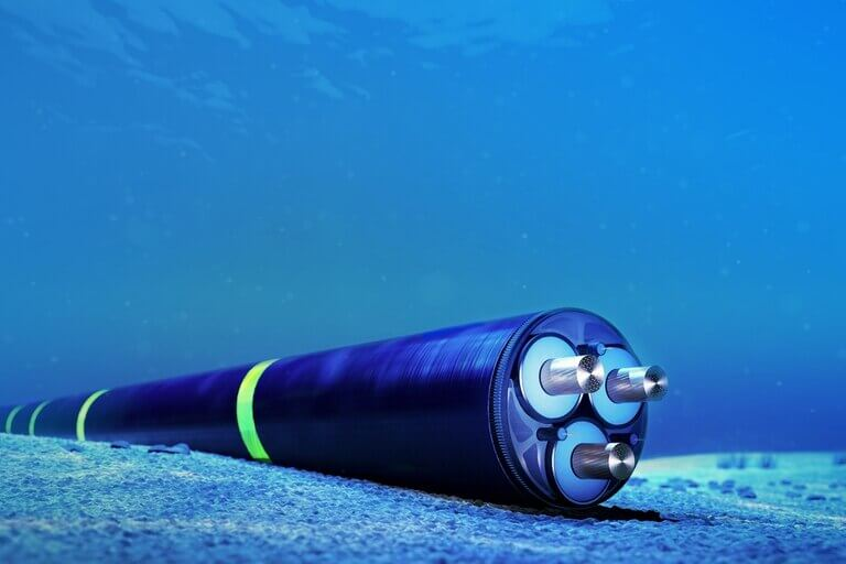 The Underwater Cable Worked on Facebook-Google in Indonesia