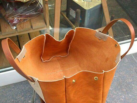 How to Make a Leather Bag Patterns with a Vector Design