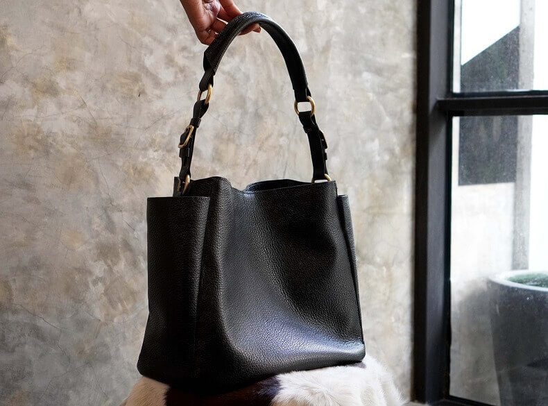 Leather Hobo Bag Pattern Using a Free Sewing Pattern