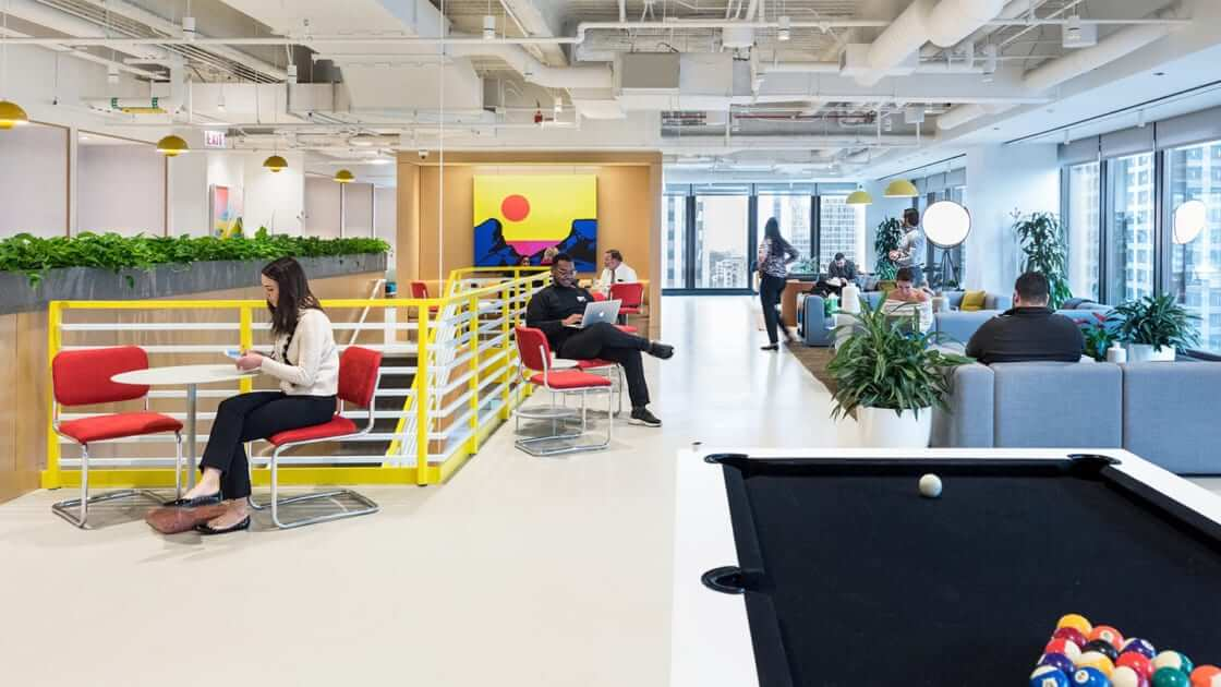 Free Coworking Space Chicago with Panoramic Views of Chicago