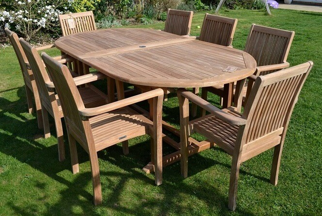 Jepara Teak Furniture Using Recycled with Fully Ornamented