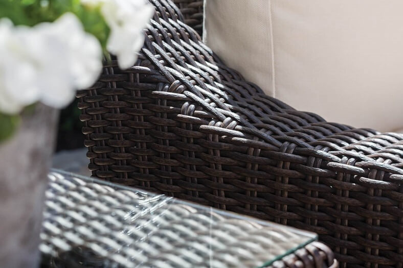 Poly Rattan Material with PE Being the Highest Quality